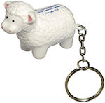 Sheep Key Chain Stress Balls